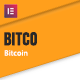Bitco - Bitcoin & Cryptocurrency Elementor Template Kit - ThemeForest Item for Sale