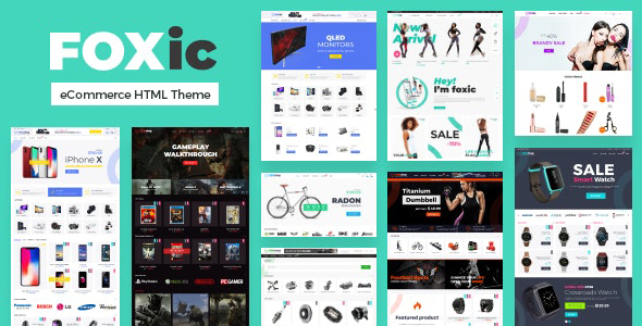 Review: Foxic - eCommerce HTML Template free download Review: Foxic - eCommerce HTML Template nulled Review: Foxic - eCommerce HTML Template