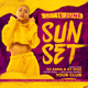 Sunset Flyer - GraphicRiver Item for Sale