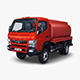 Mitsubishi Fuso Canter 4x4 Tanker - 3DOcean Item for Sale