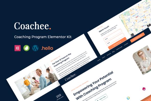 Coachee - Coaching Program Elementor Template Kit