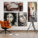 Picture / Poster Mockups [vol9] - GraphicRiver Item for Sale