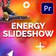 Energy Slideshow | Mogrt - VideoHive Item for Sale