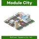 Megapolis 3d Isometric Threedimensional View - GraphicRiver Item for Sale