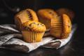Vanilla muffins. Sweet cupcakes. - PhotoDune Item for Sale