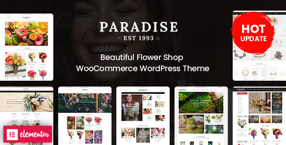 Review: Paradise - Flower Shop Elementor WooCommerce WordPress Theme (8+ Homepages Ready) free download Review: Paradise - Flower Shop Elementor WooCommerce WordPress Theme (8+ Homepages Ready) nulled Review: Paradise - Flower Shop Elementor WooCommerce WordPress Theme (8+ Homepages Ready)