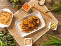 Chinese noodles with chicken - PhotoDune Item for Sale