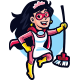 Super Maid Mascot Logo - GraphicRiver Item for Sale