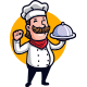The Culinary - Chef Mascot Logo - GraphicRiver Item for Sale
