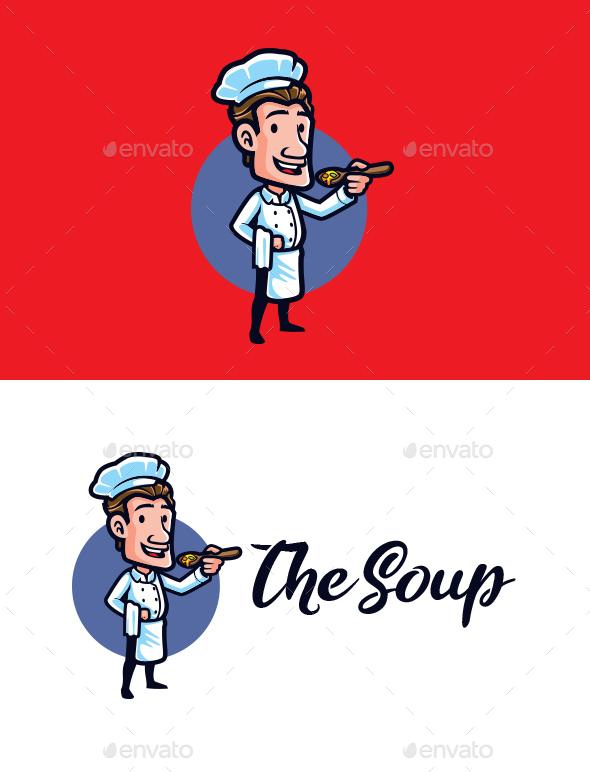 The Soup - Mascot Logo