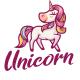 Unicorn Mascot Logo - GraphicRiver Item for Sale
