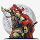 Samurai Warrior Logo - GraphicRiver Item for Sale