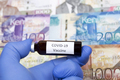 Vaccine against Covid-19 on the background of Kenyan shilling - PhotoDune Item for Sale