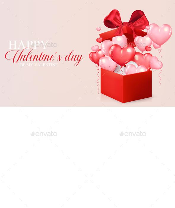 Valentine's Day Concept Background