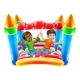 Bouncy House Castle Jumping Boys Kids Cartoon - GraphicRiver Item for Sale