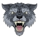 Wolf or Werewolf Monster Scary Dog Angry Mascot - GraphicRiver Item for Sale