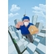 Delivery Courier Superhero Flying Super Hero - GraphicRiver Item for Sale