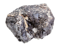 raw Sphalerite (zink ore) rock isolated on white - PhotoDune Item for Sale