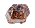 rough Almandine (almandite) crystal isolated - PhotoDune Item for Sale