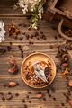 Mini round chocolate and coffee cake - PhotoDune Item for Sale