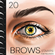 Procreate Brows Stamp Brushes Makeup - GraphicRiver Item for Sale