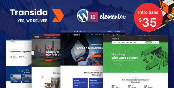 Transida - Logistics WordPress Theme