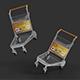 Trolleys for Terminal Mockups - GraphicRiver Item for Sale