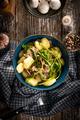 Gnocchi with mushroom sauce. - PhotoDune Item for Sale