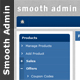 Smooth Admin - ThemeForest Item for Sale