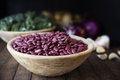 Dried Red Beans in a Wooden Bowl - PhotoDune Item for Sale