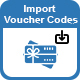 WooCommerce PDF Vouchers : Import Voucher Codes add-on - CodeCanyon Item for Sale
