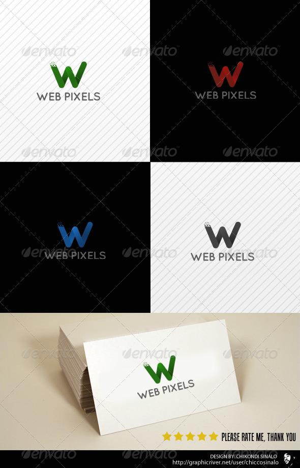 Web Pixels Logo Template