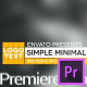 Simple Minimal Lower Thirds - VideoHive Item for Sale