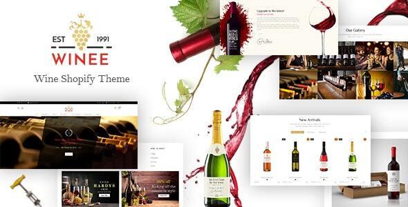 Winee - Wine Shop, Winery Farm Shopify Theme