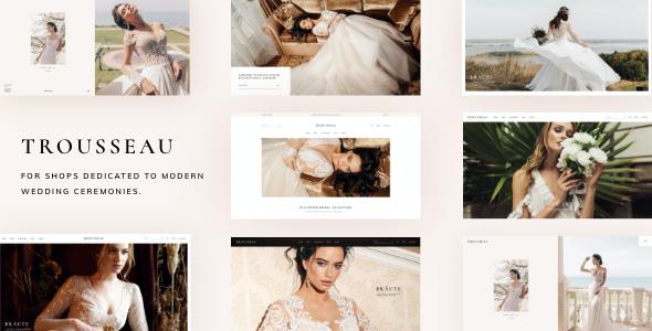 Trousseau - Bridal Shop WordPress Theme