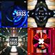Bass Music Album Cover Artwork Templates Bundle - GraphicRiver Item for Sale