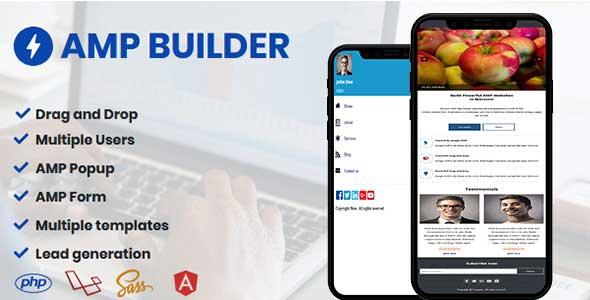 AMP Builder - AMP Landing Page Builder
