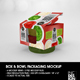 Retail Box and Bowl Packaging Mockup - GraphicRiver Item for Sale