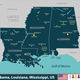 Alabama, Louisiana and Mississippi, United States - GraphicRiver Item for Sale