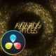Awards Titles - DaVinci Resolve - VideoHive Item for Sale