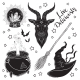 Set of Magic Witch Objects - GraphicRiver Item for Sale