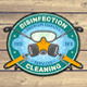 Disinfection Services Patches - GraphicRiver Item for Sale