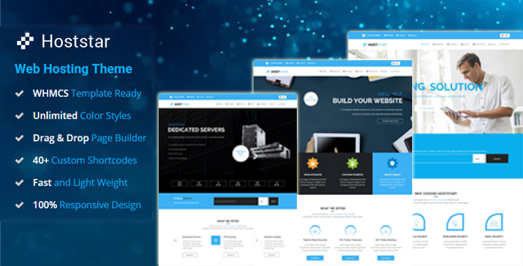 HostStar - WP Theme for Hosting, SEO and Web Design Business