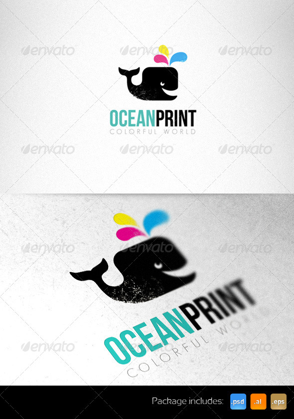 Print Studio Bright Logo Template