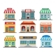 Shops Stores Exteriors - GraphicRiver Item for Sale