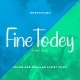 Fine Handwriting Todey - GraphicRiver Item for Sale