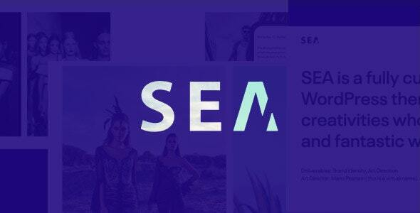 Portfolio HTML5 template   SEA
