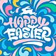 Happy Easter Ornate Designs Set - GraphicRiver Item for Sale