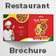 Bi-Fold Square Food Menu Brochure - GraphicRiver Item for Sale