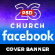 26 Church Facebook Cover Banner - GraphicRiver Item for Sale